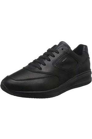 Geox Geox Herren U Dennie A Sneaker, Schwarz (Black)