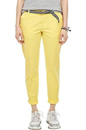 s.Oliver S.Oliver RED LABEL Damen Regular Fit: Chino mit Gürtel light yellow 40.34