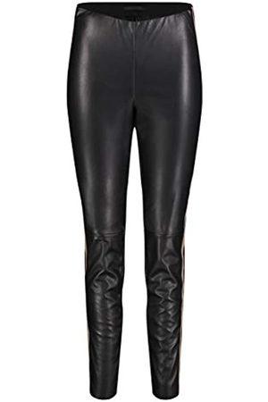 Mac Damen Legging Leather Galloon Straight Jeans