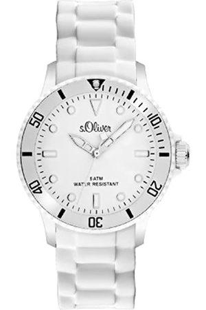s.Oliver S.Oliver Unisex-Armbanduhr Analog Silikon - SO-2291-PQ