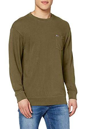 Tommy Hilfiger Tommy_Jeans Herren TJM Washed Graphic Pocket Tee Langarm shirt