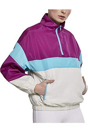 Urban classics Urban Classics Damen Jacke Ladies 3-Tone Stand Up Collar Pull Over Jacket