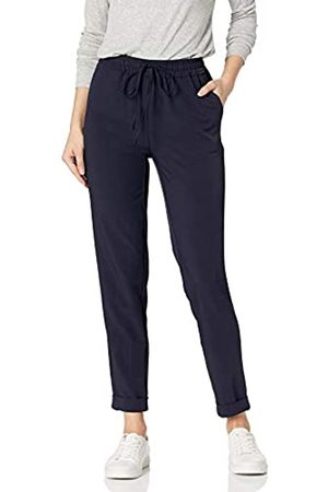 Daily Ritual Daily Ritual Fluid Stretch Woven Twill Cuffed Pants