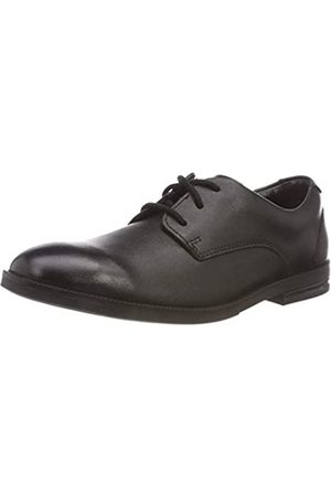 Clarks Clarks Jungen Rufus Edge BL Brogues, Schwarz (Black Leather)