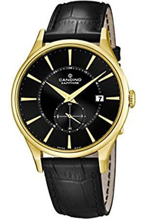 Candino Candino Herren Analog Quarz Uhr mit Leder Armband C4559/4