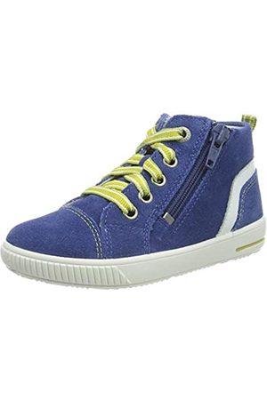 Superfit Superfit Baby Jungen Moppy Sneaker, Blau (Blau/Weiss 80)