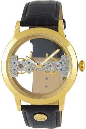 Carlo Monti Carlo Monti Armbanduhr für Herren mit Analog Anzeige, Handaufzuguhr mit Lederarmband - Wasserdichte Herrenuhr mit zeitlosem