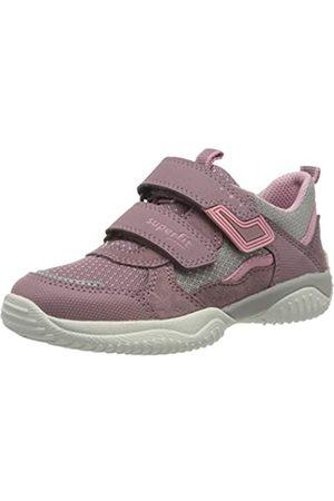 Superfit Mädchen STORM Sneaker, (Lila/ 90)