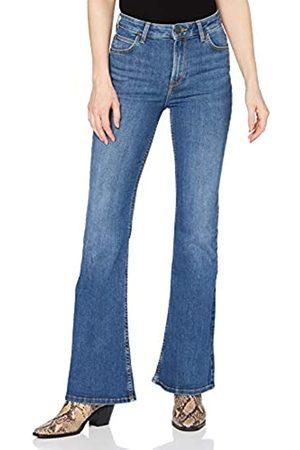 Lee Damen Bootcut - Damen Breese Flared Jeans