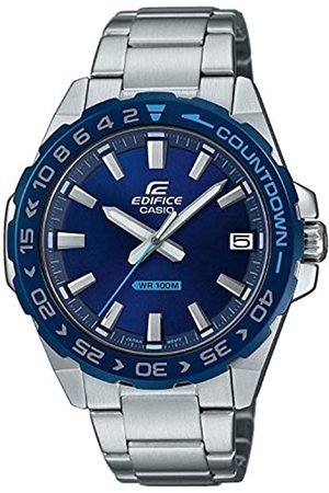 Casio Casio Herren Analog Quarz Uhr mit Edelstahl Armband EFV-120DB-2AVUEF