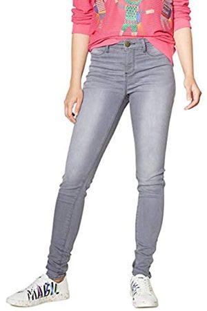 Desigual Damen Skinny Jeans Denim Long Trouser Sky Woman