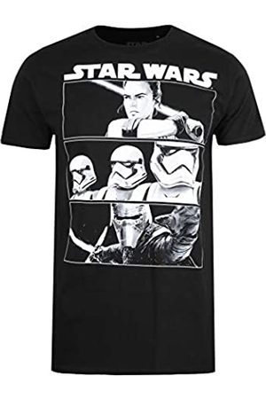 STAR WARS Herren Trio Panels T-Shirt