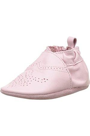 Robeez Robeez Unisex Baby Chic & Smart Krabbelschuhe, Rosa (ROSE CLAIR)