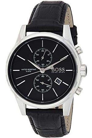 HUGO BOSS Hugo Boss Herren-Armbanduhr Jet Chronograph Quarz Leder 1513279