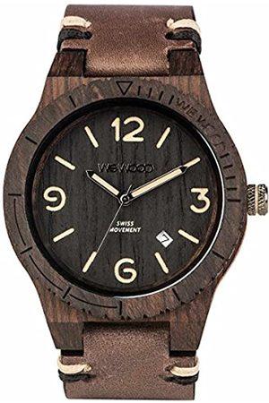 WeWood WEWOOD Herren Analog Quarz Smart Watch Armbanduhr mit Leder Armband WW08008