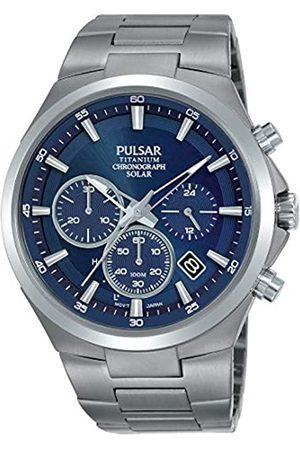 Pulsar PULSAR Herren Analog Quarz Uhr mit Edelstahl Armband PZ5095X1
