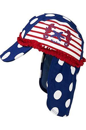 Playshoes Mädchen Hüte - Mädchen Mütze Badekappe, Bademütze Seeferdchen UV - Schutz nach Standard 801