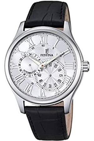 Festina Festina Herren Analog Automatik Uhr mit Leder Armband F6848/1