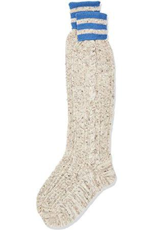 LUSANA Herren Trachtenkniestrumpf Falkenberg Tweed Trachtenstrümpfe