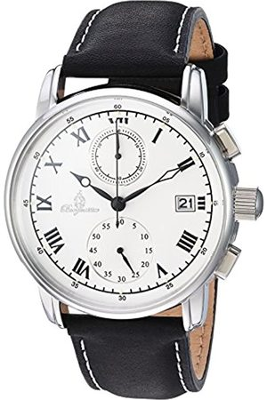 Burgmeister Burgmeister Herren Chronograph Quarz Uhr mit Leder Armband BM334-182