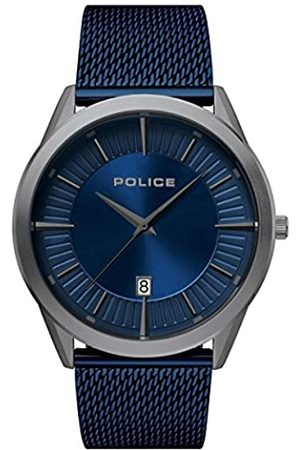 Police Police Herren Analog Quarz Uhr mit Edelstahl Armband PL15305JSU.03MM