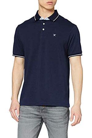 Hackett Hackett Herren Multi Trim Pique Poloshirt