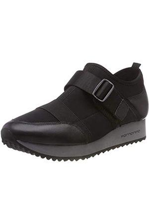 Fornarina Damen Hohe Sneaker, (Next1 Black)