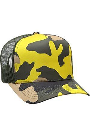 Won Hundred Won Hundred Herren Manila Baseball Cap, Grün (Camouflage-Print)