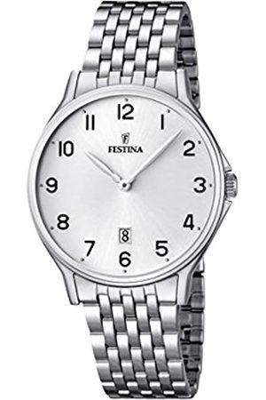Festina Festina Herren Analog Quarz Uhr mit Edelstahl Armband F16744/1