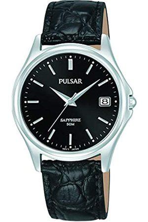 Pulsar PulsarHerrenAnalogQuarzUhrmitLederArmbandPXHA73X1