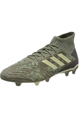 adidas Adidas Mens Predator 19.2 FG Football Shoe, Legacy Green/Sand/Solar Yellow