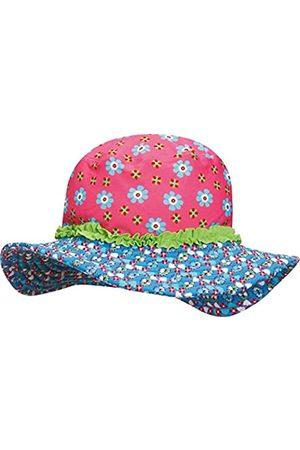 Playshoes Mädchen Mütze Sonnenhut, Bademütze Blumen, UV-Schutz nach Standard 801 und Oeko-Tex Standard 100