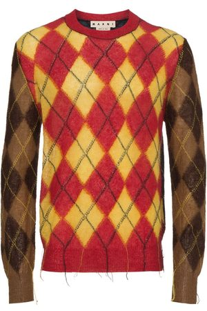 Marni Pullover mit Argyle-Muster - Mehrfarbig