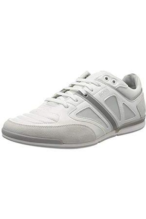 HUGO BOSS BOSS Herren Saturn_Lowp_strf 10214531 01 Sneaker, Weiß (White 100)