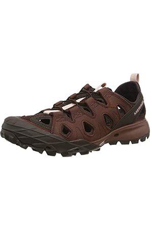 Merrell Damen Choprock Leather Shandal Aqua Schuhe, (Raisin)