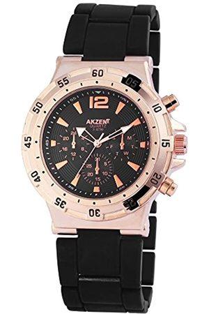 Akzent Akzent Herren Analog Quarz Uhr mit Kein Armband SS8841000014
