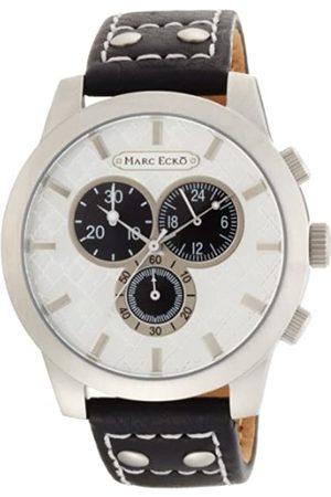 Marc Ecko Marc Ecko Herren Chronograph Quarz Uhr mit Leder Armband E14539G1