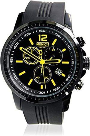 Munich Munich Unisex Erwachsene Analog Quarz Uhr mit Silikon Armband MU+102.9A