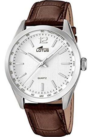 Lotus Lotus Herren Analog Quarz Uhr mit Leder Armband 18149/1