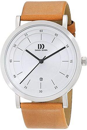 Danish Design Danish Design Herren Analog Quarz Uhr mit Leder Armband 3314529