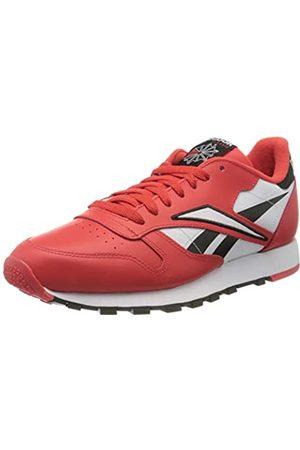 Reebok Reebok Herren Cl Leather Mu Gymnastics Shoe, Black/Radiant Red/White