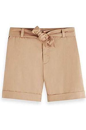 Scotch&Soda Scotch & Soda Maison Damen Longer Length Mercerized Chino Shorts