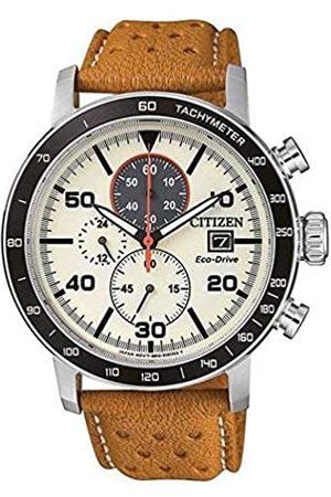 Citizen Citizen Herren Chronograph Quarz Uhr mit Leder Armband CA0641-16X
