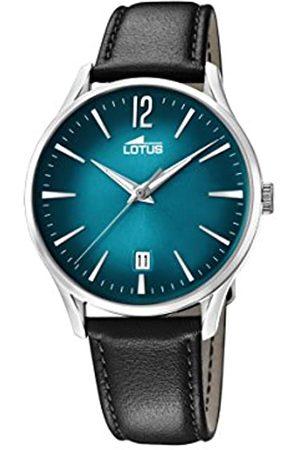 Lotus Lotus Watches Herren Datum klassisch Quarz Uhr mit Leder Armband 18402/5