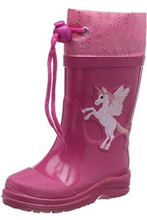 Beck BECK Mädchen Unicorn Gummistiefel, Pink (Pink 06)