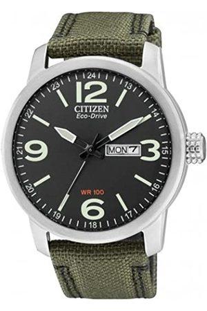 Citizen Citizen Herren Analog Quarz Uhr mit Nylon Armband BM8470-11EE