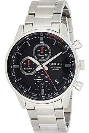 Seiko Seiko Herren Chronograph Quarz Uhr mit Edelstahl Armband SSB313P1