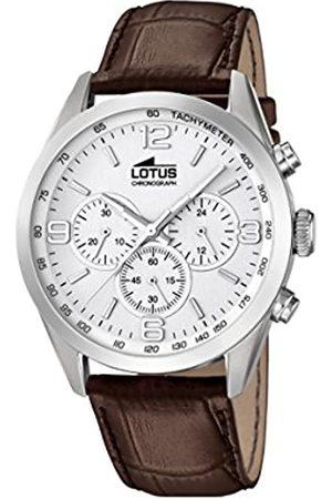 Lotus Lotus Herren Chronograph Quarz Uhr mit Leder Armband 18155/1