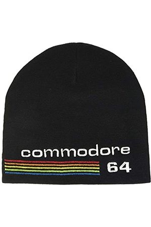 Bioworld Bioworld Unisex Commodore 64 Embroidered Logo Cuffless Beanie, Black (KC622658C64) Strickmütze