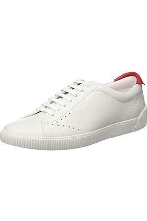 HUGO BOSS HUGO Damen Zero_Tenn_Nl Sneaker, Weiß (White 100)